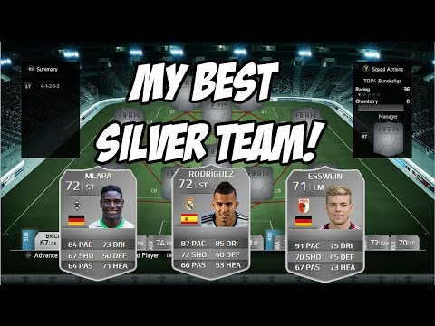 MY BEST SILVER SQUAD! - FIFA 14 Ultimate Team