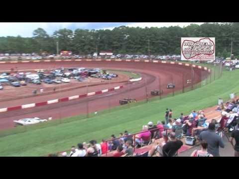 Dixie Speedway 6/24/17 Rainout Econo Bomber Heats 1&2!
