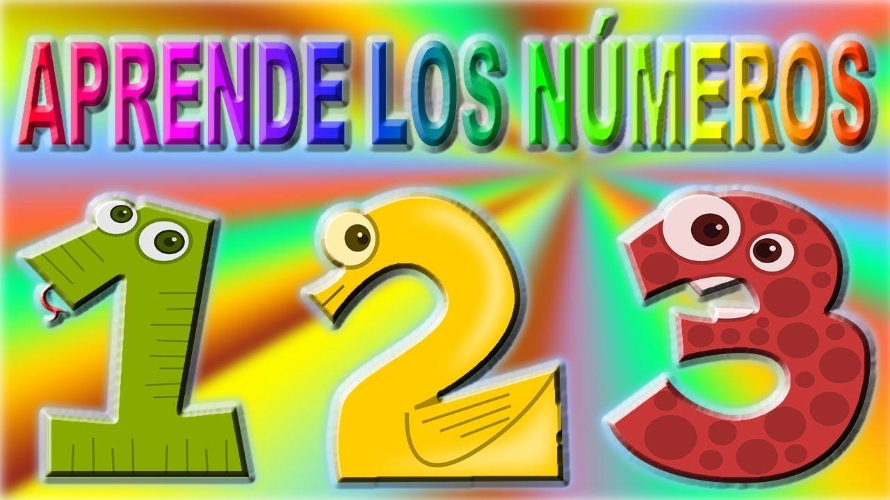 Los Números 1, 2 Y 3 Para Niños Y Niñas.