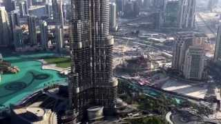 Dubai Downtown from 280 meters ( Boulevard hotel )