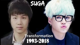 Min Yoon-gi / Suga / Agust D Transformation From 2 to 25 years old (1993-2018)