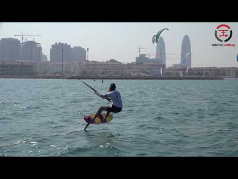 2016 IKA Kitefoil Gold Cup Finals - The Pearl - Qatar Day 4