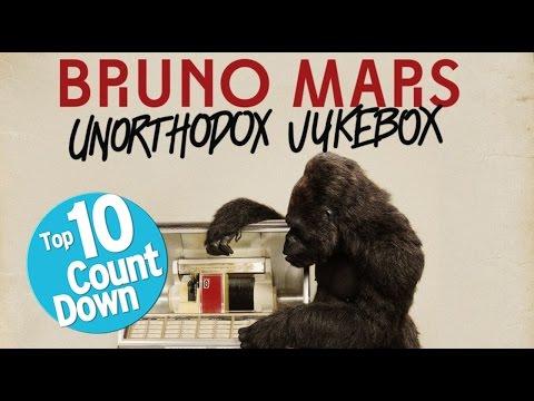 Top 10 Bruno Mars Songs