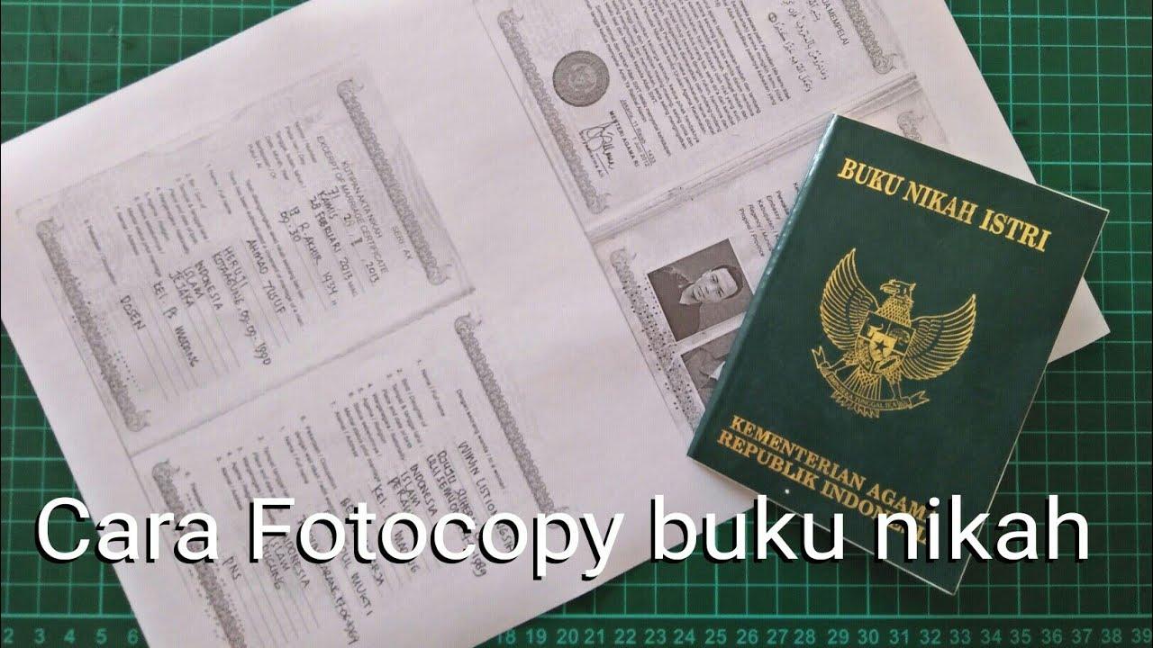 Cara Fotocopy Buku Nikah Dengan Kyocera M2540dn M2040dn Youtube