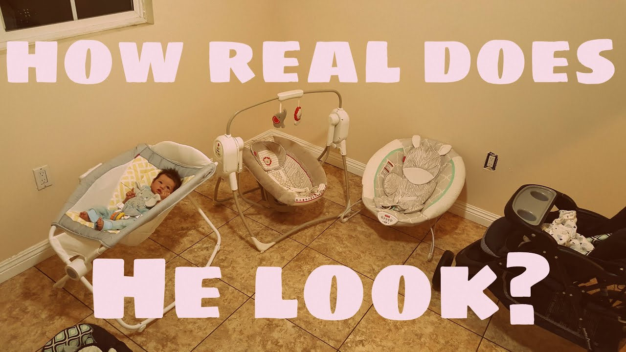 Realistic Baby Doll How Real Does It Look Reborn Baby In
