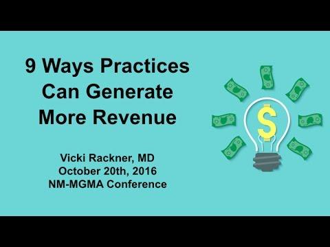 9 Ways to Generate More Revenue