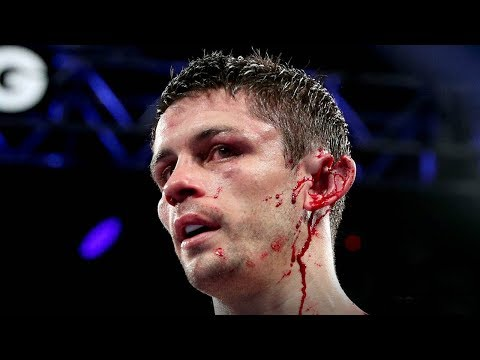 OUCH! See Boxers Ear Get RIPPED in Half!