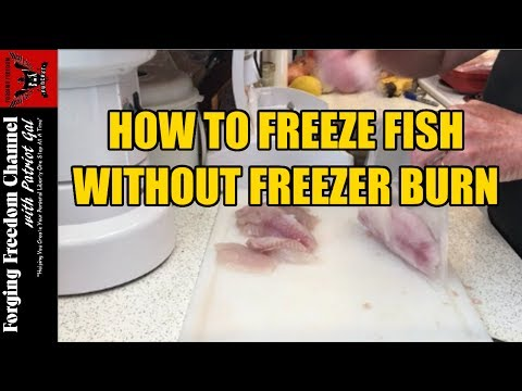 How To Freeze Fish - Avoid Fish Freezer Burn - Bass Walleye Crappie Bluegill
