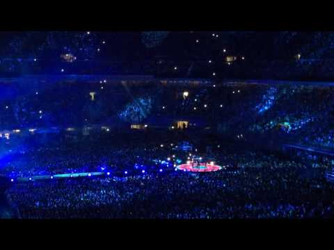 Coldplay - Miracles (Someone Special) | first live in Milan