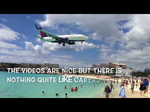 SXM Fun, Plane spotting at Maho Beach!