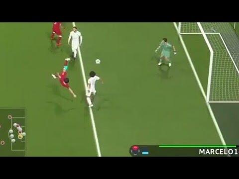 Pes 2018 uefa champios legue LIVERPOOL VS REAL MADRID