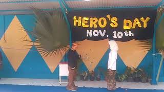 drama colossal for Hero 39 s day November 10th Performed by Students Grade 6A Putradarma Global School