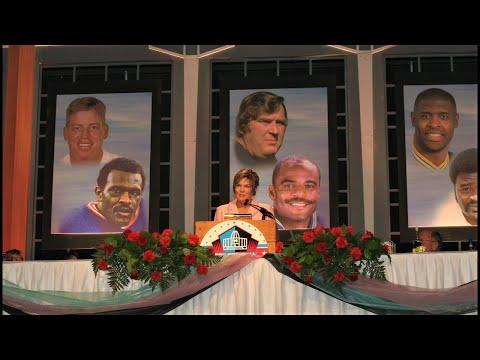 Lesley Visser - Pro Football Hall of fame