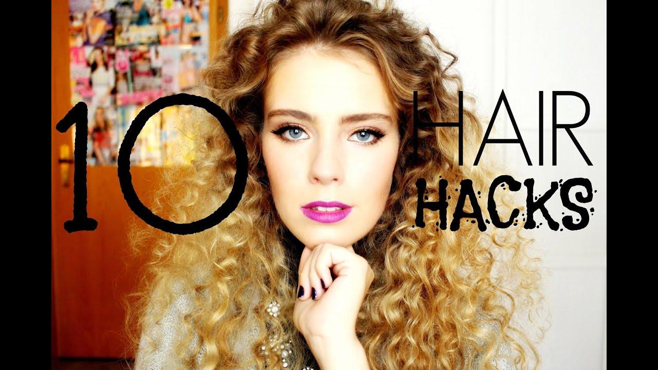 10 hair hacks lange gesunde haare verlosung youtube. Black Bedroom Furniture Sets. Home Design Ideas