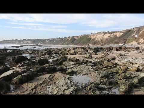 Crystal Cove State Park Beach at Low Tide, California, Nov. 30, 2017.
