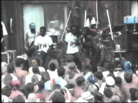 JOSEPH HILL and ORIGINAL CULTURE @ WOODBURY, CT - JUL. 19, 1987 . PT 1 : GLOBAL ROCK GHETTO MUZIK TV