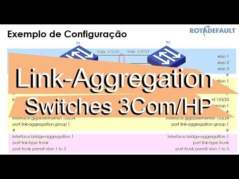 Link-aggregation - Switches HP, 3Com e H3C baseados no Sistema Operacional  Comware