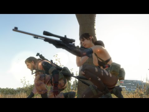 Big Boss' Birthday Cut Scene (Quiet) Metal Gear Solid V: The Phantom Pain