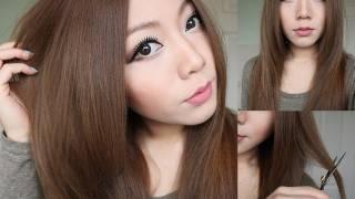 How To Cut Hair Layers ✂ thumbnail