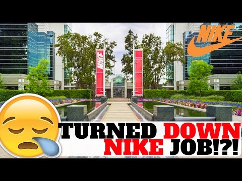 I TURNED DOWN A JOB AT NIKE!?! (SNEAKER STORY!)
