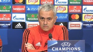 Jose Mourinho Full Pre-Match Press Conference - FC Basel v Manchester United - Champions League