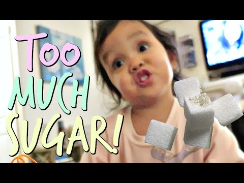 DON'T EAT TOO MUCH SUGAR! - October 14, 2016 -  ItsJudysLife Vlogs