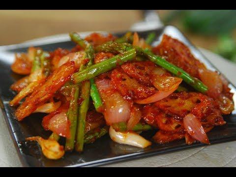 Sweet Chilli Lotus Root | Cooksmart | Sanjeev Kapoor Khazana