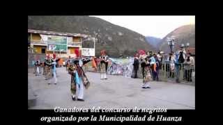 Concurso de Negritos organizado por la Municipalidad de Huanza