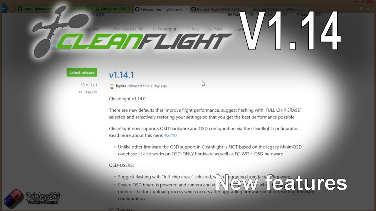 RC Quick Tips: Cleanflight V1 14 Overview
