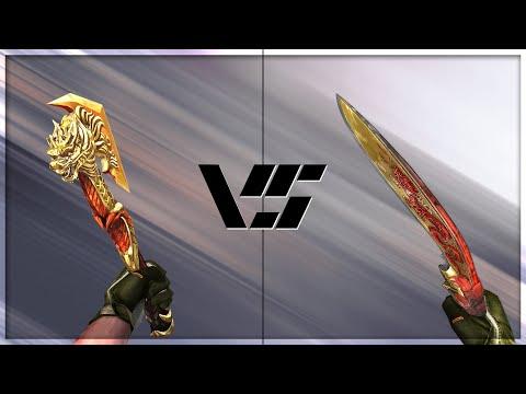 CrossFire 2.0 : COMBAT AXE-BEAST vs KUKRI-BEAST [VVIP Melee Comparison]