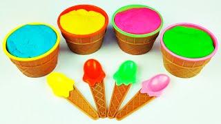 Play-Doh Ice Cream Surprise Eggs To...