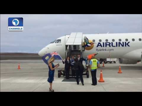 Aviation Report On First Flight Into St Helena |Aviation This Week|