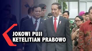 Ketika Jokowi Puji Ketelitian Prabowo Subianto