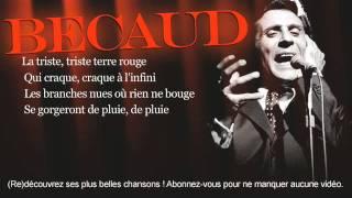Gilbert Bécaud - Le jour où la pluie viendra - Paroles (Lyrics)