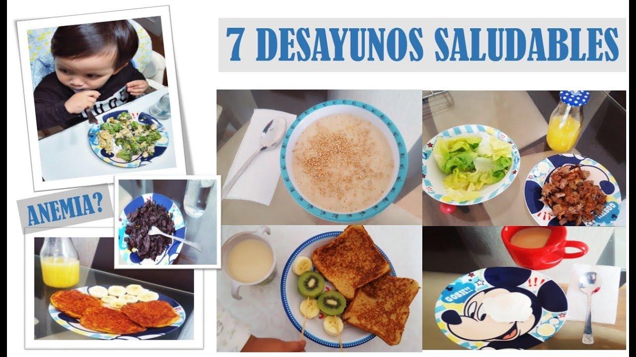 desayunos saludables para niños colombia