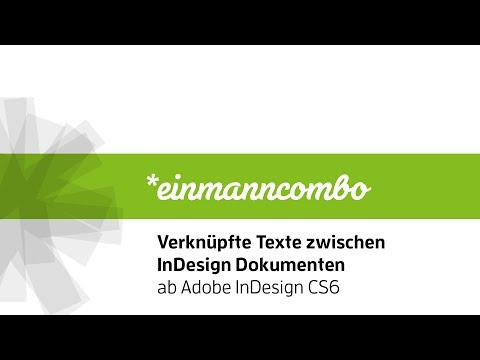 Verknüpfte Texte zwischen InDesign Dokumenten