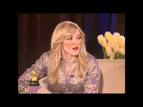 Ellen's First Interview With Madonna!