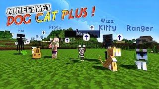 """Présentation du mod """"DOG CAT PLUS""""! - Des compagnons invincible ! [1.7.10][1.7.2]"""