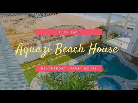 Aquazi Beach House ECR | Seafront Luxury Beach House House Rental|