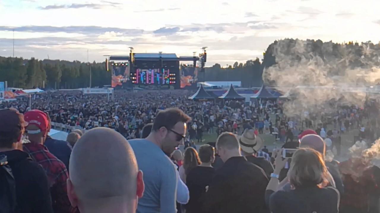 Guns N Roses Hämeenlinna