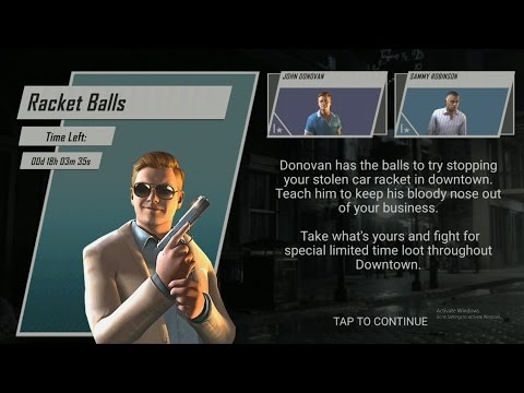 mafia 3 rivals timed event : Racket balls
