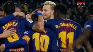Video BARÇA 6 X 1 GIRONA All Goals & Extended Highlights - La Liga 24/02/2018 HD download MP3, 3GP, MP4, WEBM, AVI, FLV November 2018