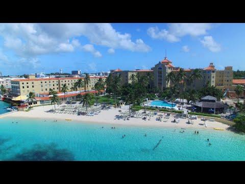 British Colonial Hilton Nassau Aerial Tour