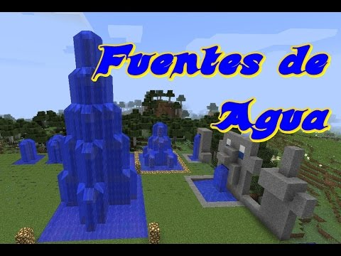 Minecraft fuentes de agua varios dise os youtube for Las mejores casas modernas