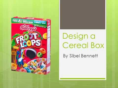 How to design and make a cereal box youtube how to design and make a cereal box ccuart Images
