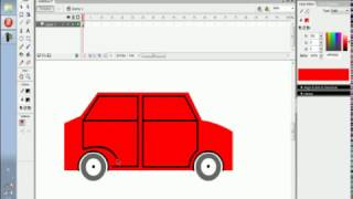 cara membuat animasi mobil berjalan di macromedia flash 8