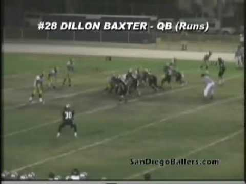 QB Selection for All-San Diego Team: Dillon Baxter