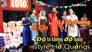 Lô tô show : Lê Cần hát Độ Ta Không Độ Nàng style hồ quảng khiến Lộ Lộ phấn khích