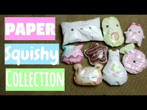 Paper Squishy Collection | Ibloom, Puni Maru Inspired | Part 6