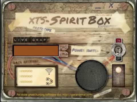 Amazing Responses From XTS Spirit Box Ghost Hunting Software!